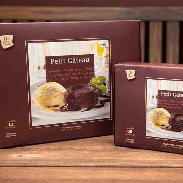 Caixa Petit Gateau de Chocolate