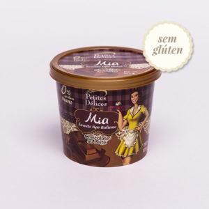 Gelato sabor Chocolate